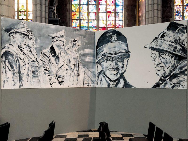 Stille Helden, St. Bavo Kathedrale, Gent 2018
