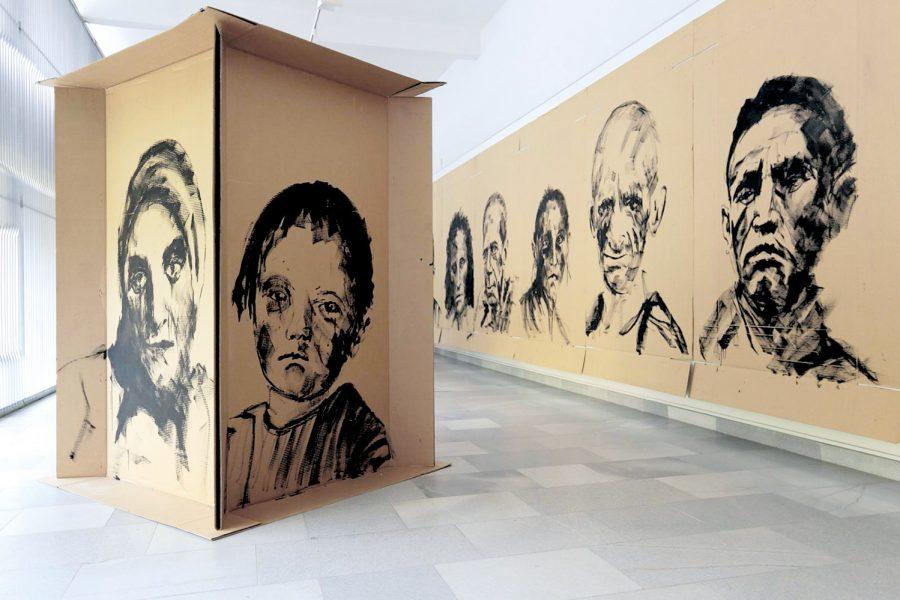 Eingesperrt, Schell Collection, Graz 2015